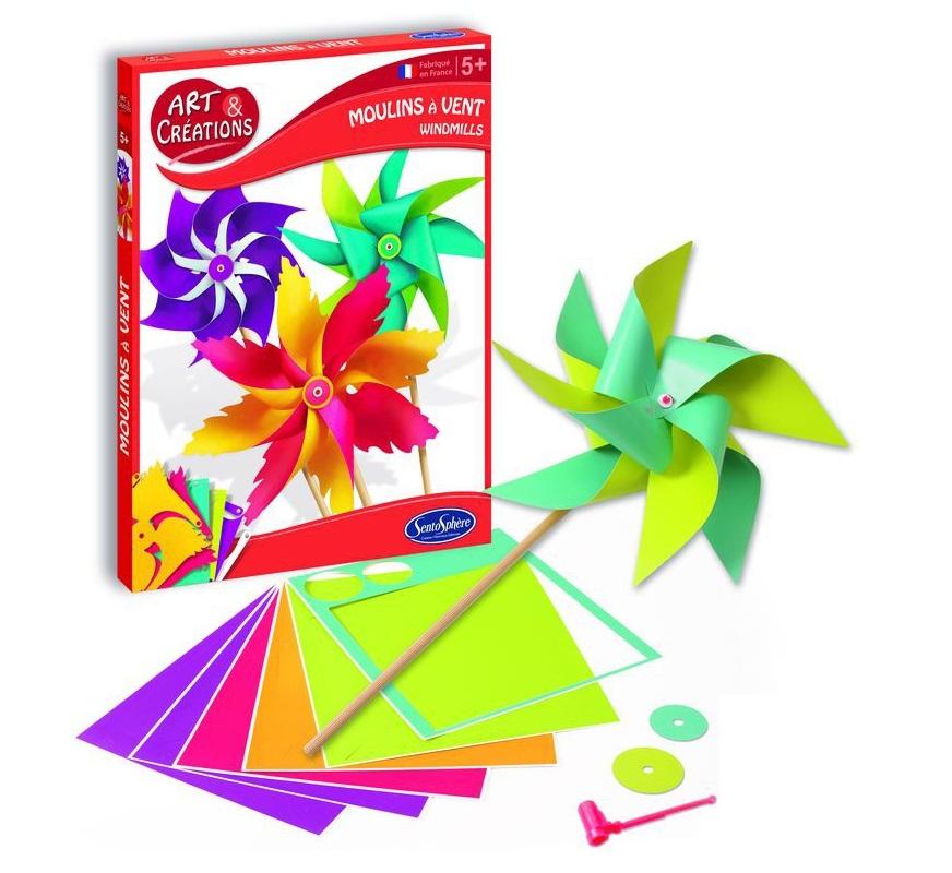 Купить Набор для детского творчества - Ветрячки, SentoSpherE