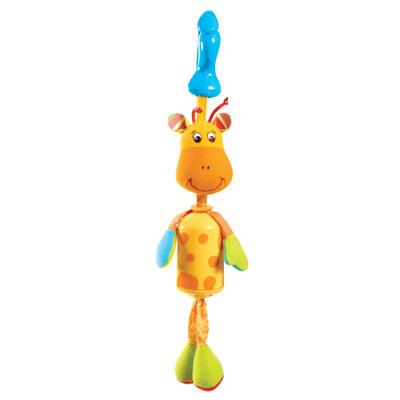 Подвеска колокольчик жираф Самсон 1Детские погремушки и подвесные игрушки на кроватку<br>Подвеска колокольчик жираф Самсон 1<br>