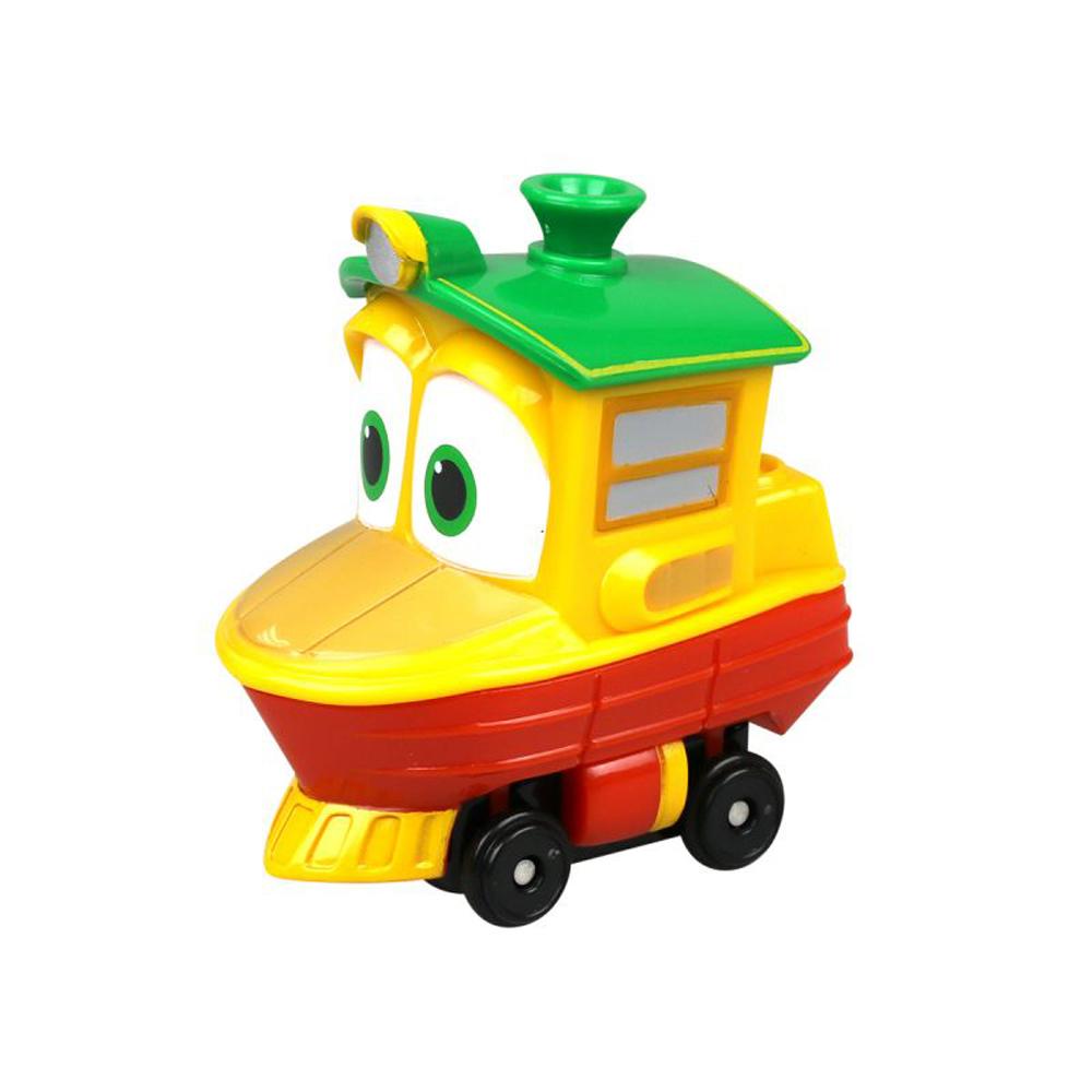 Robot Trains. Паровозик УтенокЖелезная дорога для малышей<br>Robot Trains. Паровозик Утенок<br>