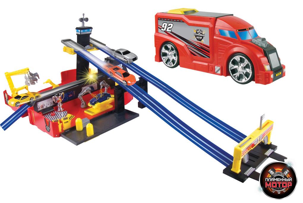 Купить Набор-трансформер – Трейлер/Авторалли, Пламенный мотор