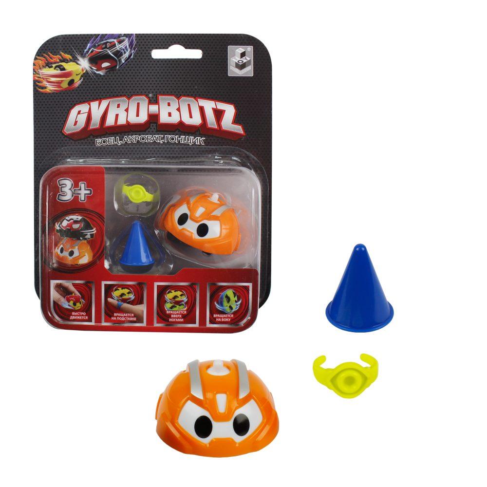 картинка Инерционная игрушка волчок Gyro-Botz от магазина Bebikam.ru