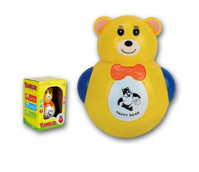 Купить Неваляшка - Медвежонок, звуковые эффекты, размер 13 x 19 x 12 см.