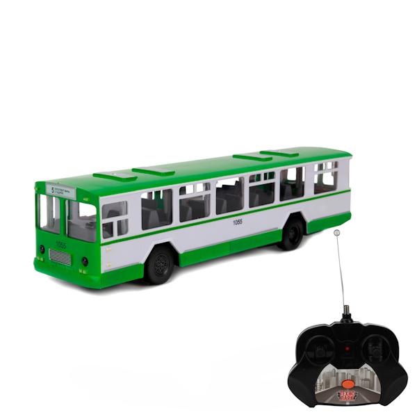 Радиоуправляемый автобус со светом и звуком, 24 см.Машины на р/у<br>Радиоуправляемый автобус со светом и звуком, 24 см.<br>