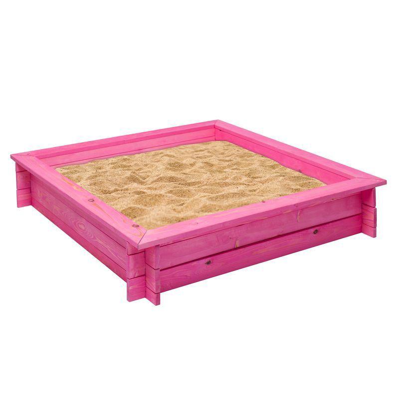 Деревянная песочница – Афродита, розовыйДетские песочницы<br>Деревянная песочница – Афродита, розовый<br>