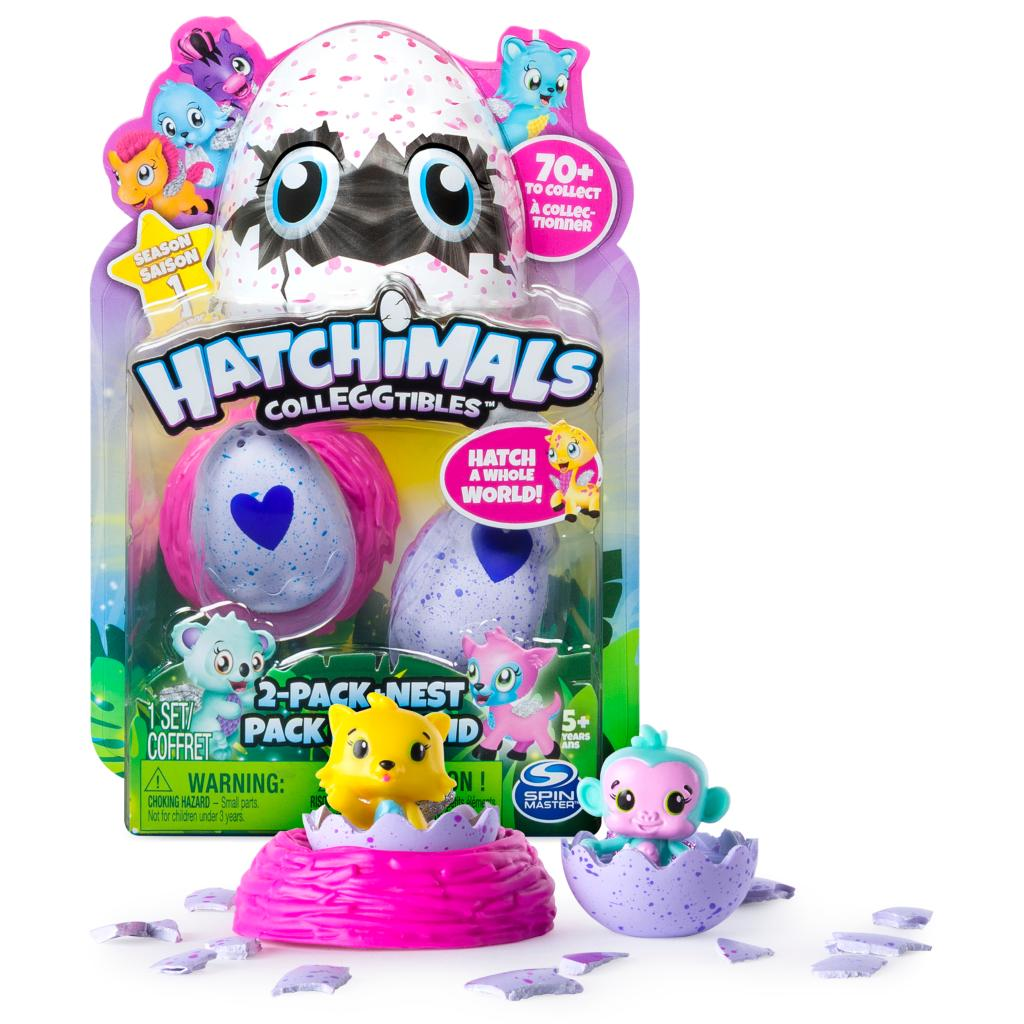 Коллекционная фигурка Hatchimals, 2 штукиHatchimals<br>Коллекционная фигурка Hatchimals, 2 штуки<br>