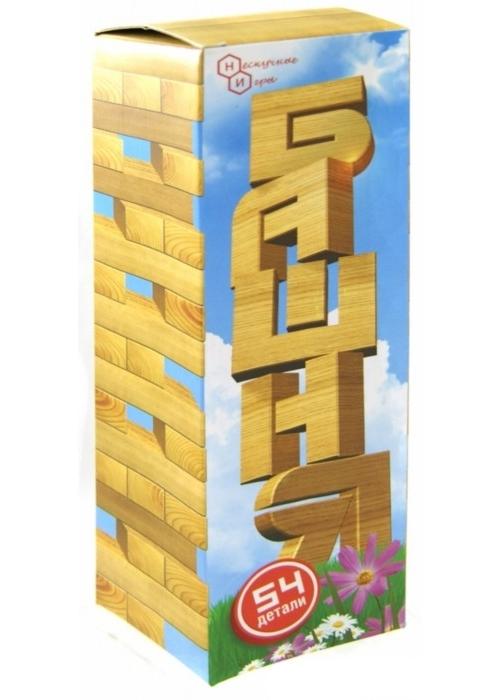 Настольная игра - Башня, 54 деталиРазвивающие<br>Настольная игра - Башня, 54 детали<br>