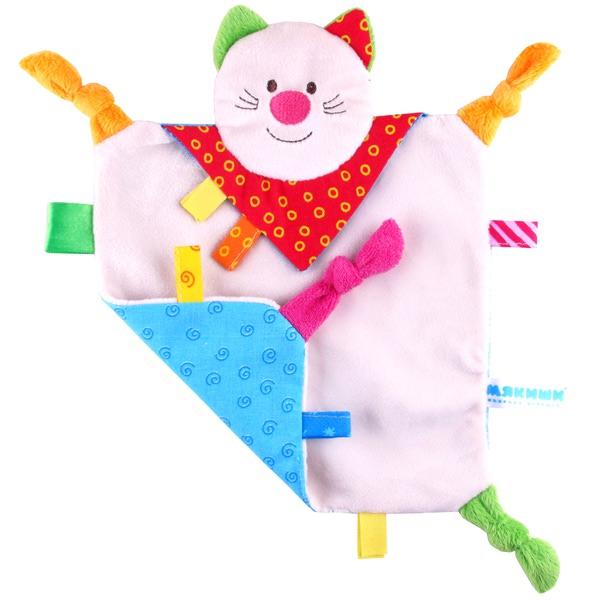 Игрушка платочек «Котенок» из серии ШумякишиДетский кукольный театр <br>Игрушка платочек «Котенок» из серии Шумякиши<br>