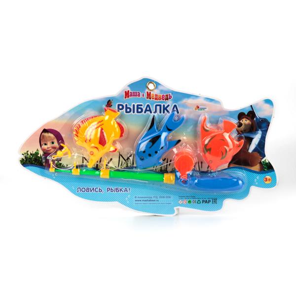 Игра Рыбалка - Маша и МедведьНастольные игры для детей<br>Игра Рыбалка - Маша и Медведь<br>