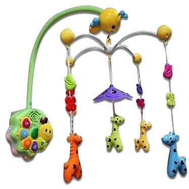 Музыкальная карусель - Жираф с пультом управленияМобили и музыкальные карусели на кроватку, игрушки для сна<br>Музыкальная карусель - Жираф с пультом управления<br>