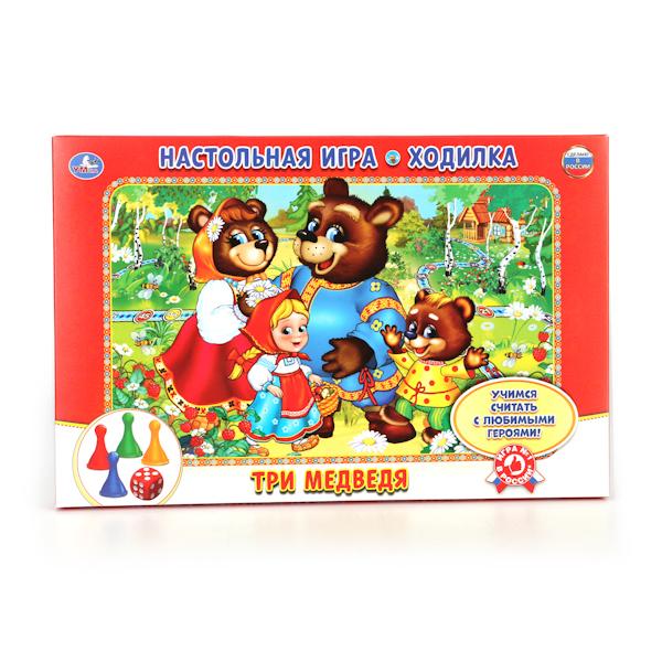 Настольная игра-ходилка – Три медведя