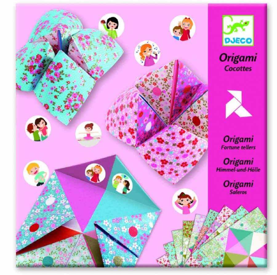 Набор для творчества - Оригами с фантами фото