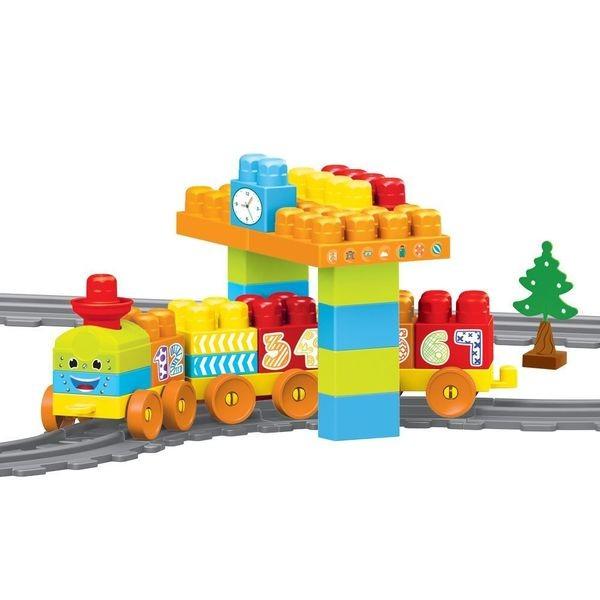 Купить Моя первая железная дорога с конструктором, Dolu