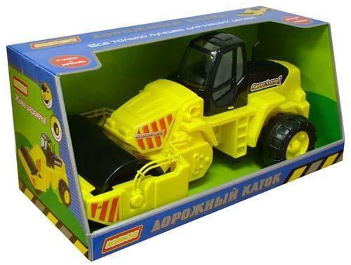 Дорожный каток, в коробкеГородская техника<br>Дорожный каток, в коробке<br>