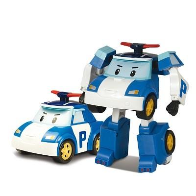 Игрушка – трансформер Поли, 10 см. - Robocar Poli. Робокар Поли и его друзья, артикул: 24265