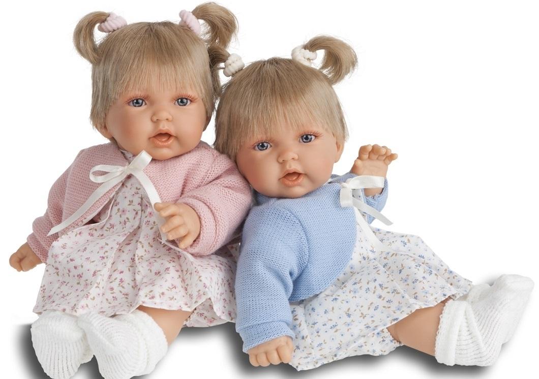 Кукла Элис в розовом, озвученная, 27 см.Куклы Антонио Хуан (Antonio Juan Munecas)<br>Кукла Элис в розовом, озвученная, 27 см.<br>