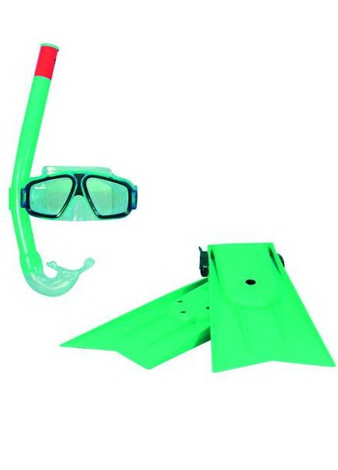 Набор для плавания в сумочкеМаски, ласты, трубки для плавания<br>Набор для плавания в сумочке<br>