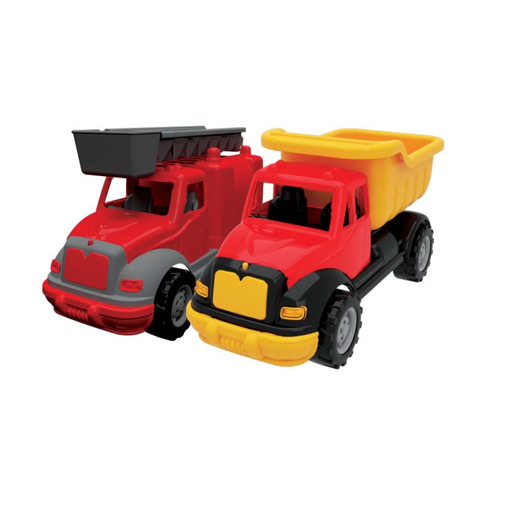 Купить Набор - Грузовик и пожарная машина, 37 см, Terides