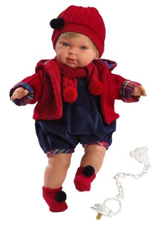 Кукла Мигуэль, 42 смИспанские куклы Llorens Juan, S.L.<br>Кукла Мигуэль, 42 см<br>