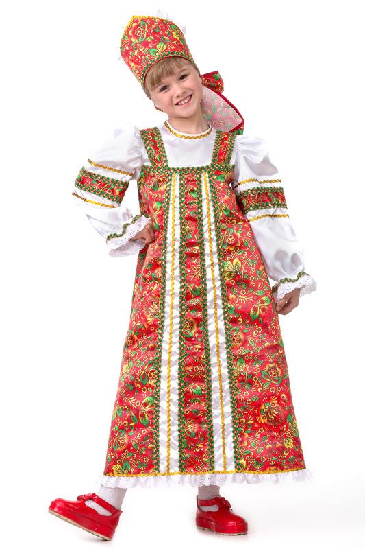 Купить Карнавальный костюм из серии Сказочная страна – Аленушка, размер 134-68, Батик