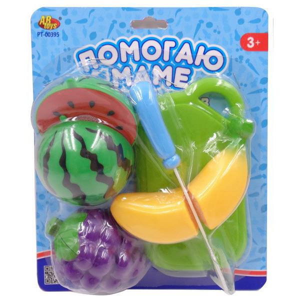 Набор фруктов - Помогаю маме, 8 предметовДетская игрушка Касса. Магазин. Супермаркет<br>Набор фруктов - Помогаю маме, 8 предметов<br>