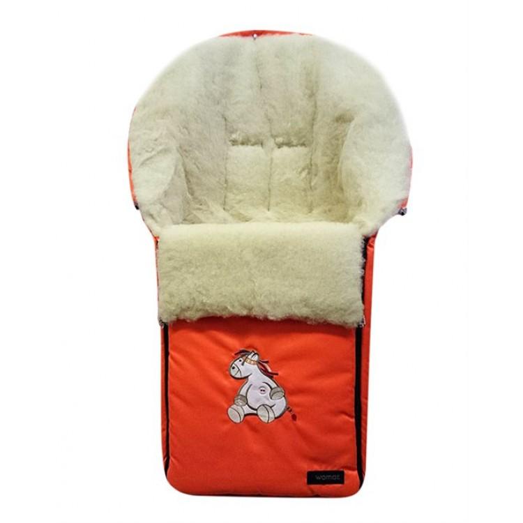Спальный мешок в коляску №06 – Aurora, 2 оранжевый