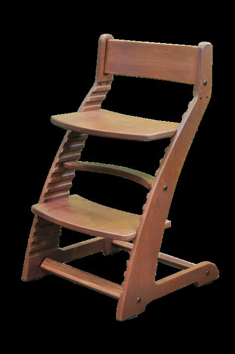Купить Растущий стул Praktikk, цвет - Светлый орех, Wood lines