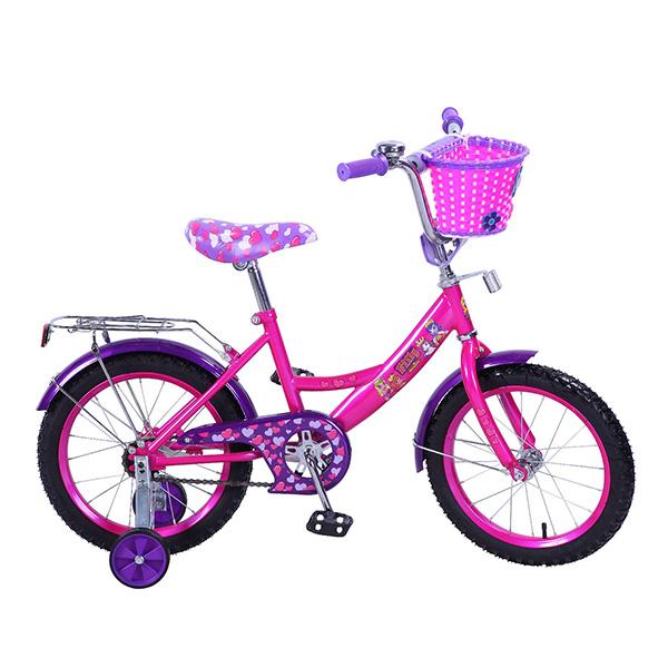 Детский велосипед – Filly, 16, A-тип, розово-фиолетовыйЛошадки Филли Filly Princess<br>Детский велосипед – Filly, 16, A-тип, розово-фиолетовый<br>