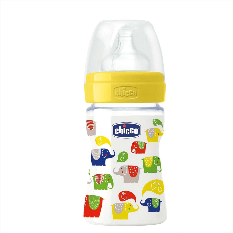 Пластиковая бутылочка с силиконовой соской, 150 млТовары для кормления<br>Пластиковая бутылочка с силиконовой соской, 150 мл<br>