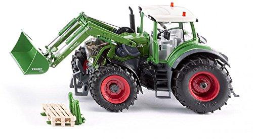 Купить Модель трактора Fendt 939 Vario с фронтальным погрузчиком, Siku