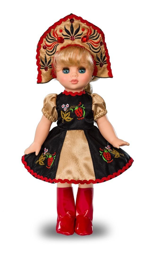 Кукла Эля - Хохломская красавица 30,5 смРусские куклы фабрики Весна<br>Кукла Эля - Хохломская красавица 30,5 см<br>