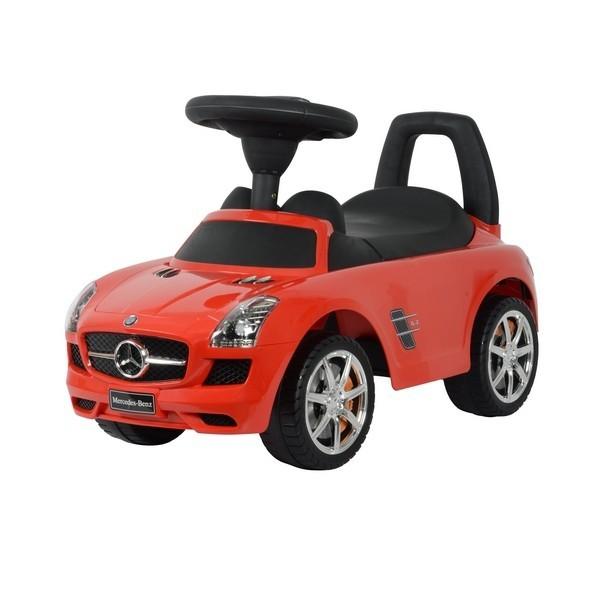 Машинка-каталка – Mercedes Benz SLS AMG, красный, звукМашинки-каталки для детей<br>Машинка-каталка – Mercedes Benz SLS AMG, красный, звук<br>