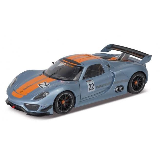 Модель машины Porsche 918 RSR, 1:34-39Porsche<br>Модель машины Porsche 918 RSR, 1:34-39<br>
