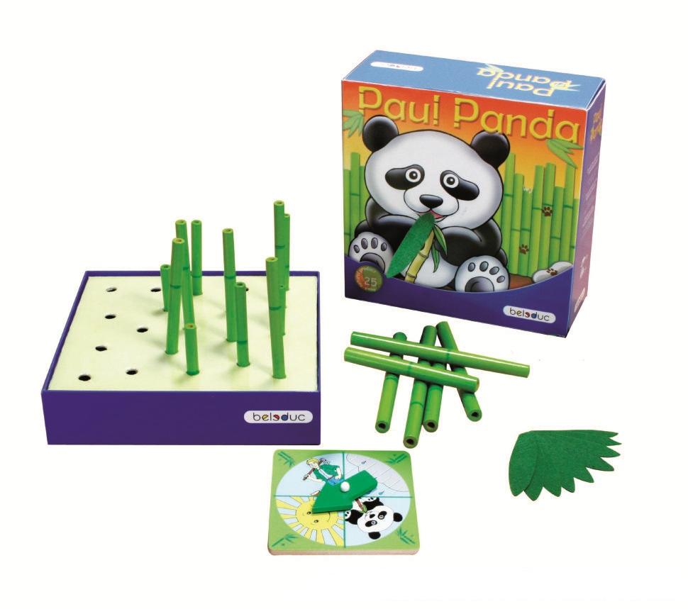 Развивающая игра - Веселая панда фото