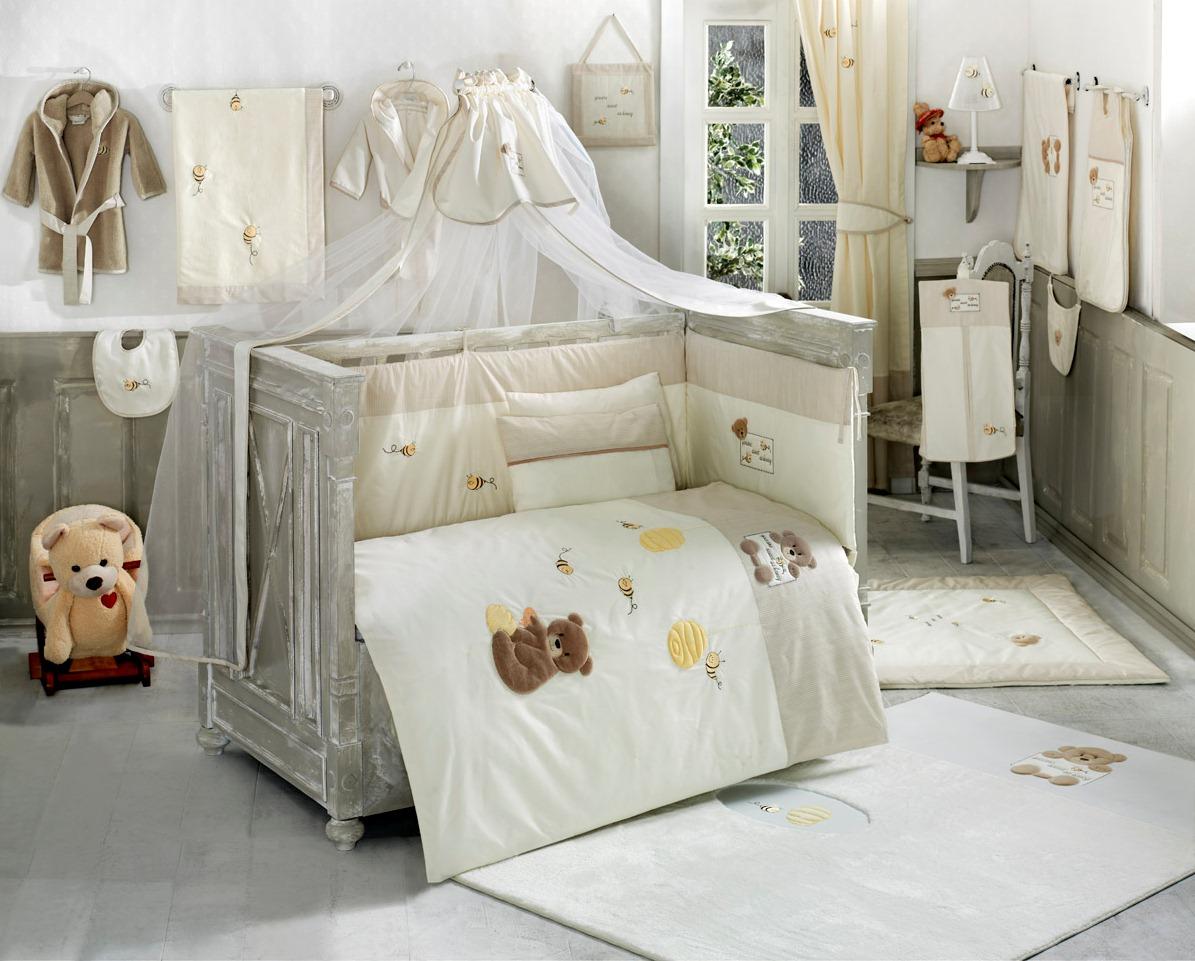 Балдахин серии Honey Bear 150 х 450 см, Soft - Спальня, артикул: 171443