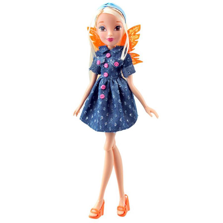 Купить Кукла Winx Club Стильная штучка – Стелла, 28 см.