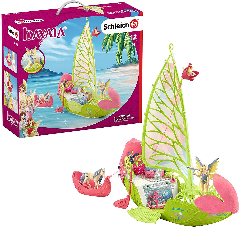Волшебная цветочная лодка Серы фото
