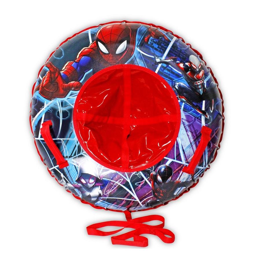 Купить Тюбинг - надувные сани из серии Человек-Паук Марвел с резиновой автокамерой, 100 см., 1TOY
