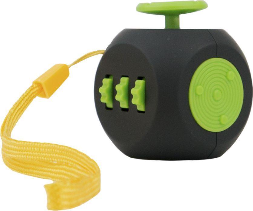Игрушка антистресс - FidgetCube 3.0 Air, черно-зеленыйАнтистресс кубики Fidget Cube<br>Игрушка антистресс - FidgetCube 3.0 Air, черно-зеленый<br>