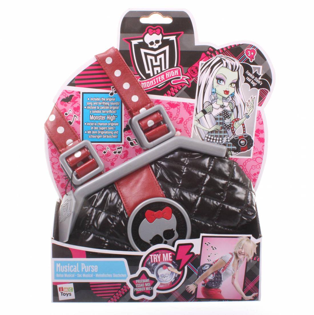 Школа монстров. Сумка музыкальная, Monster HighКуклы Ever After High и Monster High<br>Школа монстров. Сумка музыкальная, Monster High<br>