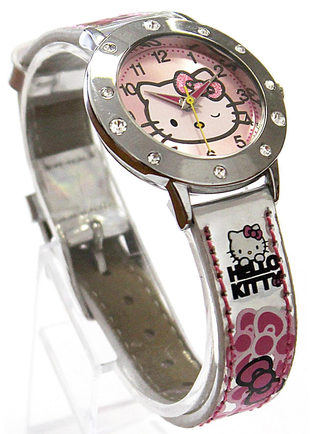 Часы наручные аналоговые Hello KittyДетские часы<br>Часы наручные аналоговые Hello Kitty<br>