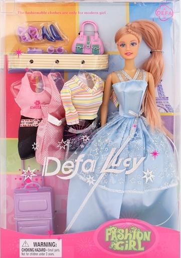 Кукла Defa с нарядами и аксессуарами, 29 смКуклы Defa Lucy<br>Кукла Defa с нарядами и аксессуарами, 29 см<br>