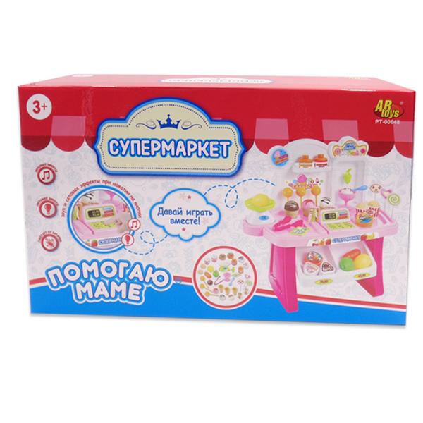 Игровой набор Помогаю маме – Супермаркет со световыми и звуковыми эффектами )Детская игрушка Касса. Магазин. Супермаркет<br>Игровой набор Помогаю маме – Супермаркет со световыми и звуковыми эффектами )<br>
