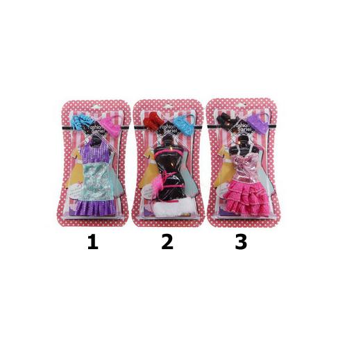 Купить Набор одежды и аксессуаров для куклы высотой 29 см, 3 вида, JUNFA TOYS
