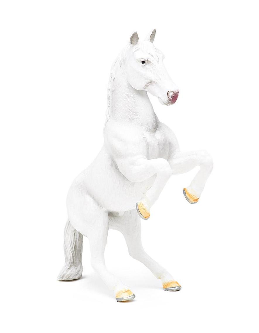 Фигурка - Жеребец Липпицианский, пластиковаяЛошади (Horse)<br>Фигурка - Жеребец Липпицианский, пластиковая<br>