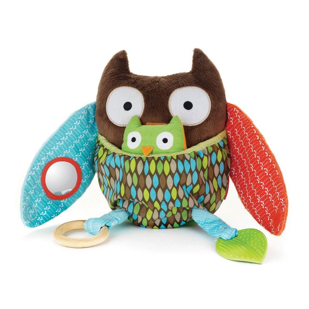 Развивающая игрушка СоваДетские погремушки и подвесные игрушки на кроватку<br>Развивающая игрушка Сова<br>