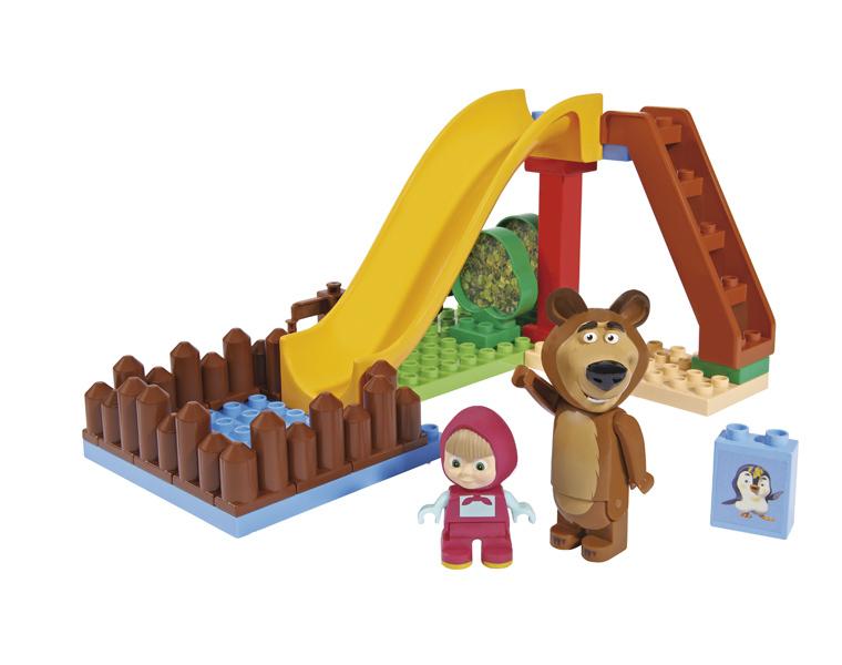 Конструктор Маша и Медведь с бассейномМаша и медведь игрушки<br>Конструктор Маша и Медведь с бассейном<br>