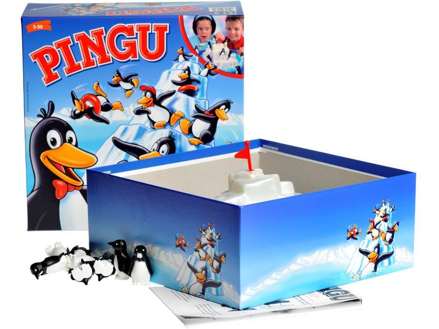 Настольная игра Пингвины на льдинеДля самых маленьких<br>Настольная игра Пингвины на льдине<br>