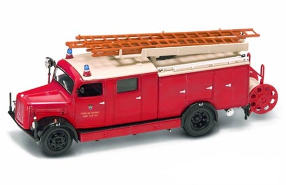Модель пожарного автомобиля Magirus-Deutz 330, образца 1941 года, масштаб 1/43Пожарная техника, машины<br>Модель пожарного автомобиля Magirus-Deutz 330, образца 1941 года, масштаб 1/43<br>