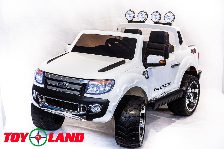 Электромобиль - Ford Ranger, 2016 New, белыйЭлектромобили, детские машины на аккумуляторе<br>Электромобиль - Ford Ranger, 2016 New, белый<br>