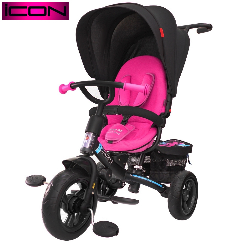 Велосипед RT ICON evoque New Stroller by Natali Prigaro glamour opalВелосипеды детские<br>Велосипед RT ICON evoque New Stroller by Natali Prigaro glamour opal<br>